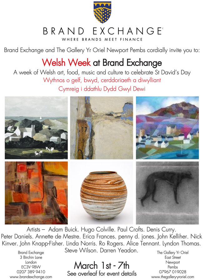 Welsh Week at The Brand Exchange